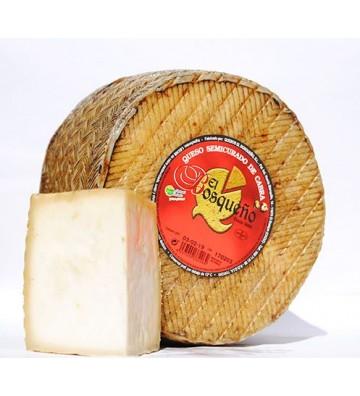 """Espectacular sabor de este queso artesano con leche de cabra payoya elaborado por """"El Bosqueño"""""""
