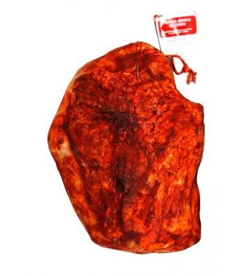 La papada es carne fresca del cerdo ibérico