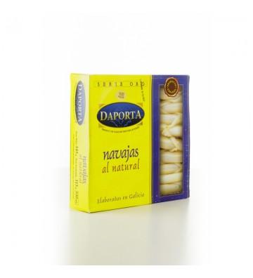 Envase con 18/20 piezas grandes de navajas de las rias gallegas de Daporta, espectaculares!!!