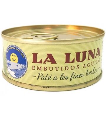 """Qué sabor tan fino nos deja este paté a las finas hierbas de """"La Luna"""""""