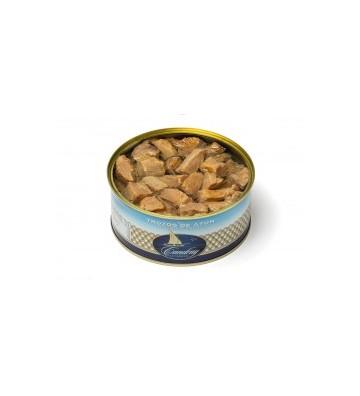 Trozos de atún de Herpac envasados con aceite de girasol buenísimo para poder preparar fáciles ensaladas
