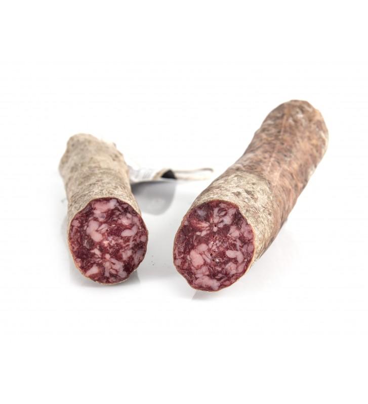 Un gran trabajo de la familia Belisario Barriga con sus productos ibéricos, exquisito salchichón bellota