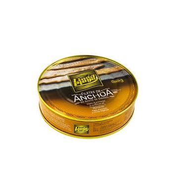 Filetes de anchoa en aceite de girasol, con buena relación calidad/precio
