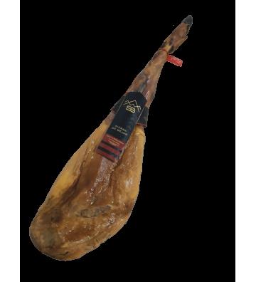 Rico rico este sabor dulce que nos trae este jamón de bellota 50% raza ibérica desde  Sierra de Béjar en Salamanca