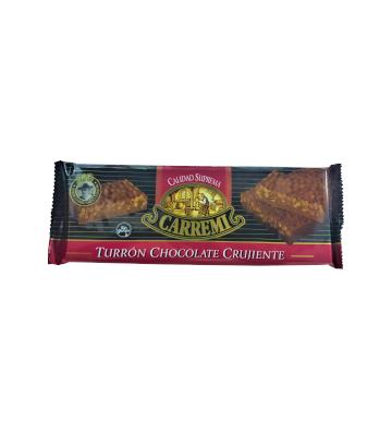 El chocolate crujiente Carremi para los mas pequeños de la casa