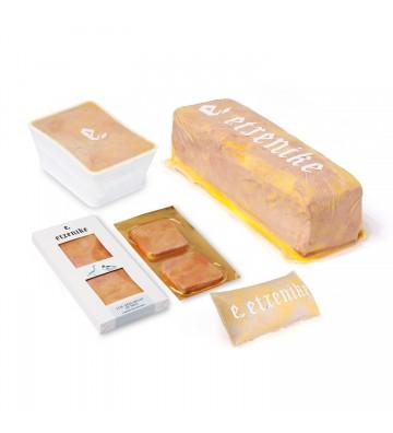Delicioso foie gras de pato Etxenike para servir frio y tomar en pequeñas porciones