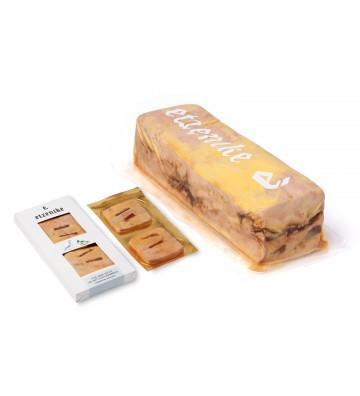 Delicioso foie gras de pato Etxenike con ese toque dulce de membrillo