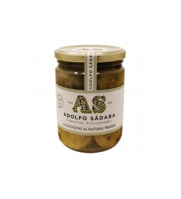 Extraordinaria alcachofa natural para tomar sola o acompañada de Adolfo Sadaba
