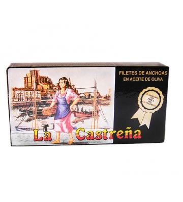 Anchoa limpia de espinas y una textura perfecta son las de La Castreña