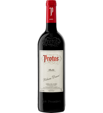 Protos Tinto Roble 2018 75 cl.