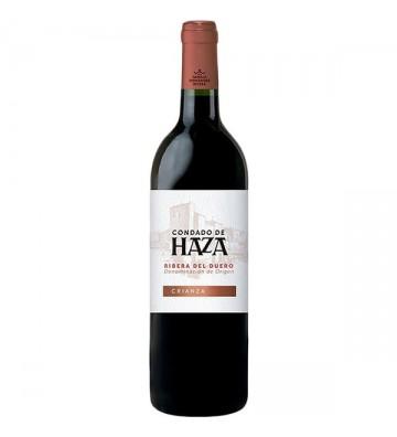 Vino tinto D.O. Ribera del Duero variedad 100% tempranillo.