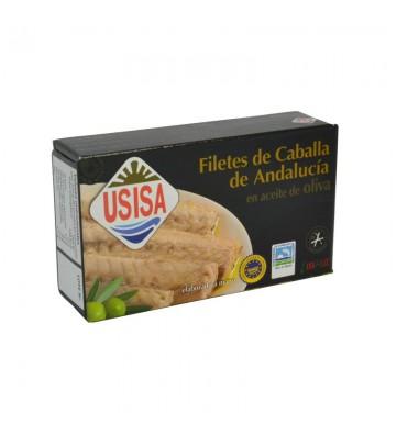 Gran sabor filete caballa sur en aceite de oliva de la marca Usisa
