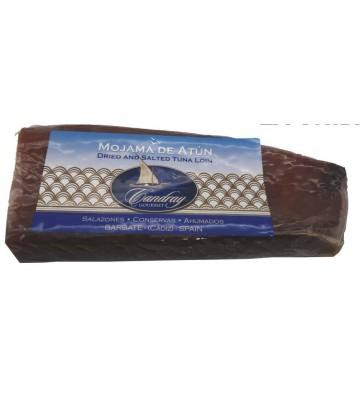 Esta mojama extra Candray viene de Barbate  y con una gran calidad de sus atunes.