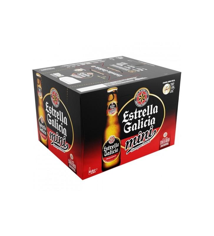 Cerveza Estrella Galicia Pack 20 botellas 20 cl.