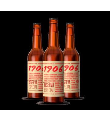 Cerveza 1906 Reserva Especial Pack 12 bot. de 50 cl.