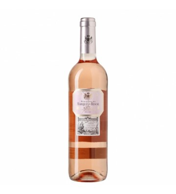 Este rosado es un acierto seguro de marques de Riscal, freso y equilibrado