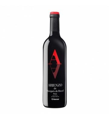 Una gran calidad en este vino Crianza de la histórica bodega de Marques de Riscal