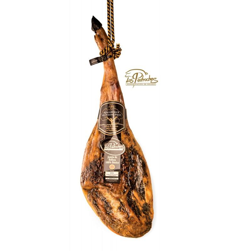 Jamón Puro Bellota 100% raza ibérica con DOP del valle de Los Pedroches de categoría excepcional