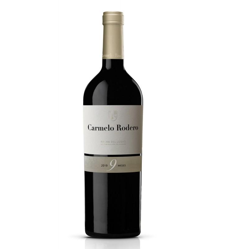 Carmelo Rodero destaca por la calidad en un tempranillo excepcional dentro de la Ribera del Duero.